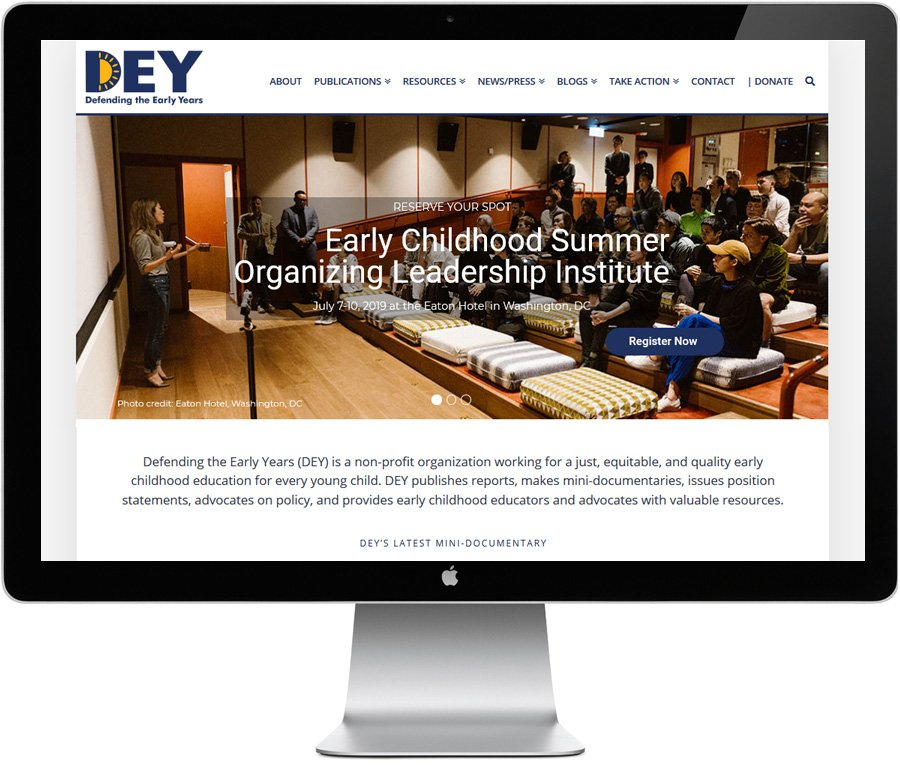Defending the Early Years, website by LIMIT8