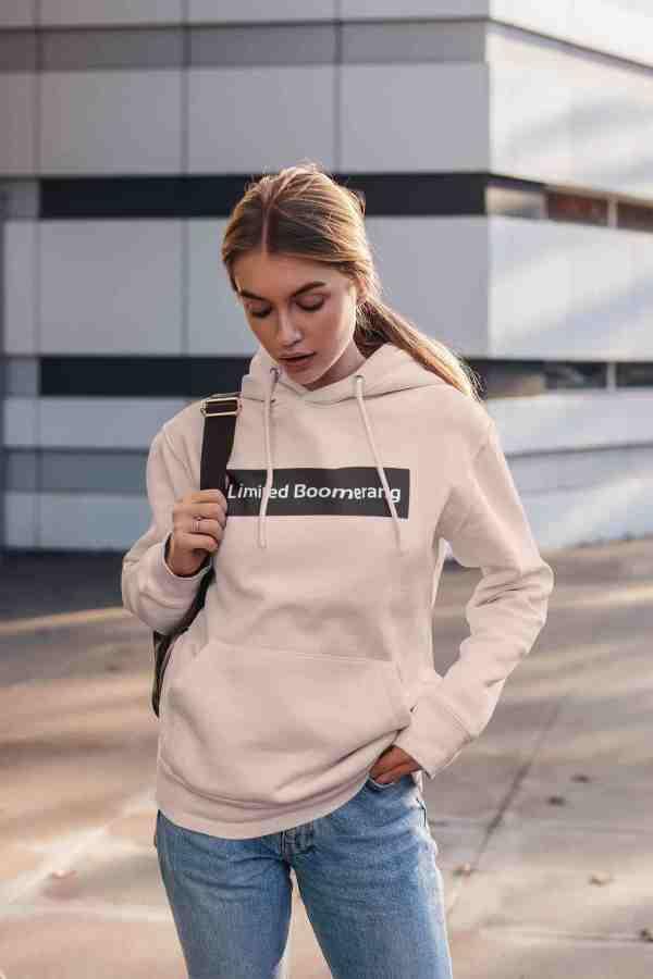 hoodie boomerang