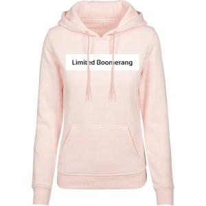 hoodie basis pink
