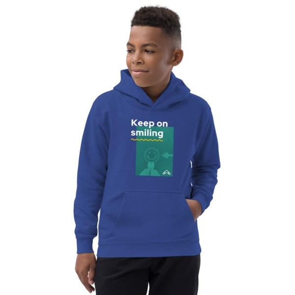 kids hoodie SMILE