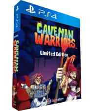 caveman warriors limited edition ps4 cover