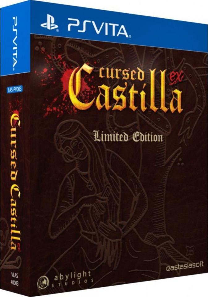 cursed castilla ex eastasiasoft playasia.com exclusive ps vita cover