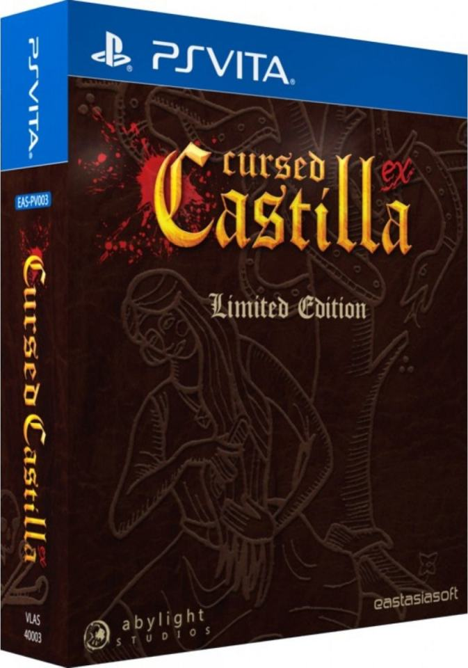 cursed castilla ex eastasiasoft playasia.com exclusive ps vita cover