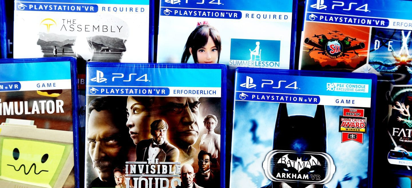 List of physical PSVR Games (PlayStation VR) - Limited Game News