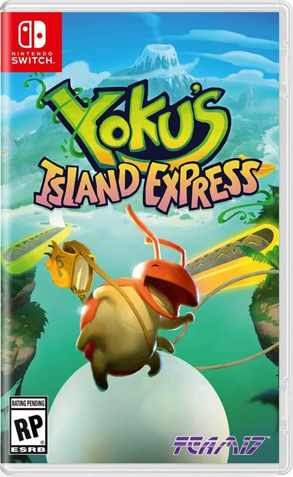 yokus island express team 17 nintendo switch cover