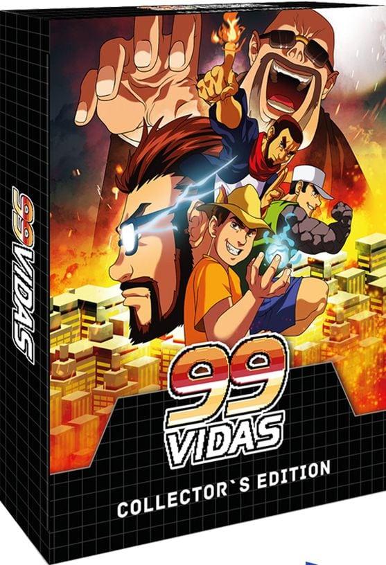 99vidas strictlylimitedgames.com limited edition mega drive ps4 cover