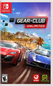 gear club unlimited microids nintendo switch cover