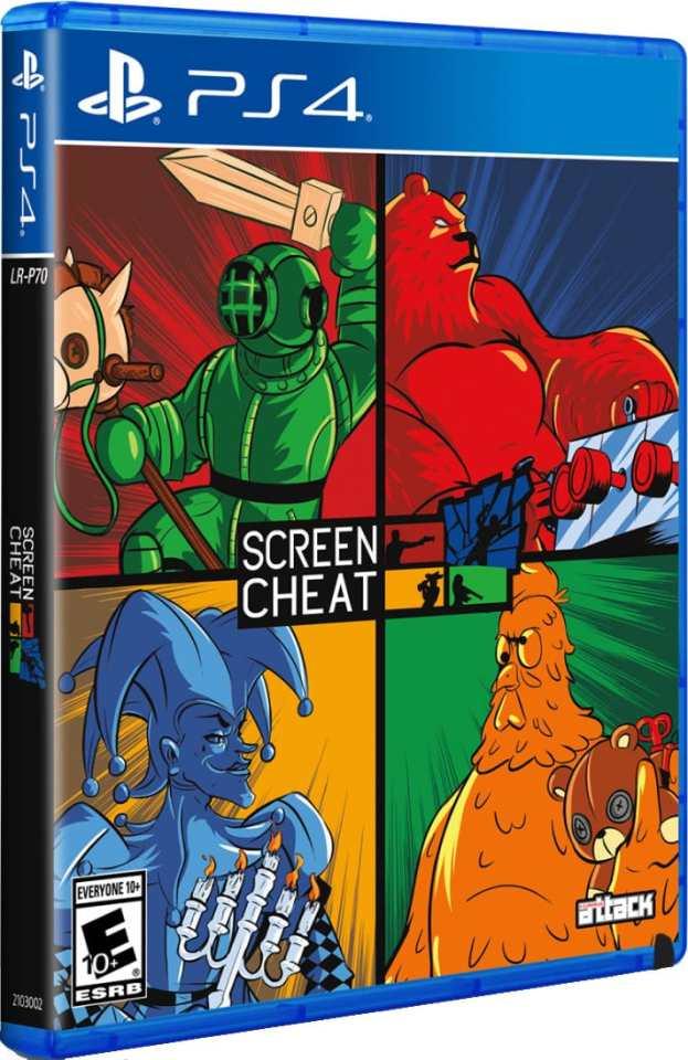 screencheat limitedrungames.com ps4 cover