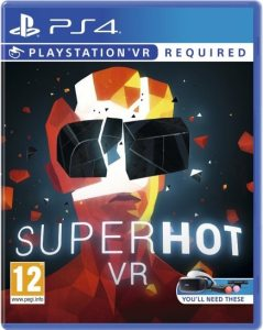 superhot vr superhot team ps4 psvr cover