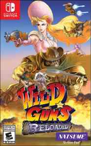 wild guns reloaded natsume nintendo switch ps4 cover