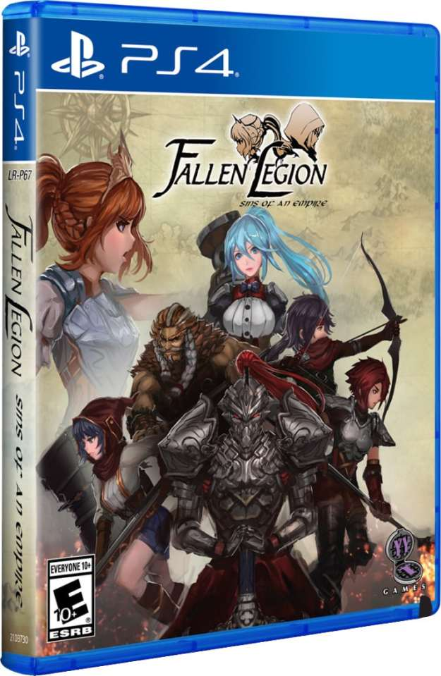 fallen legion sins of an empire limitedrungames.com ps4 cover