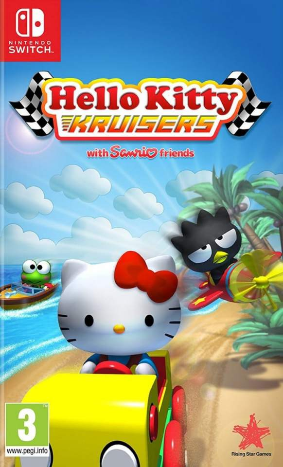 hello kitty kruisers rising star games nintendo switch cover