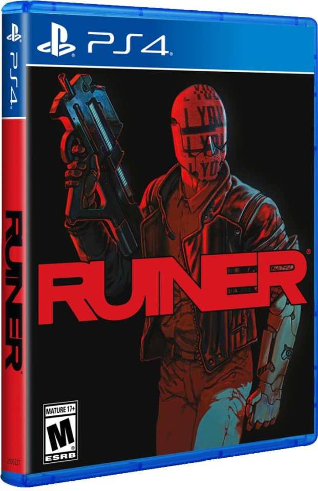 ruiner lrg variant specialreservegames.com limitedrungames.com ps4 cover
