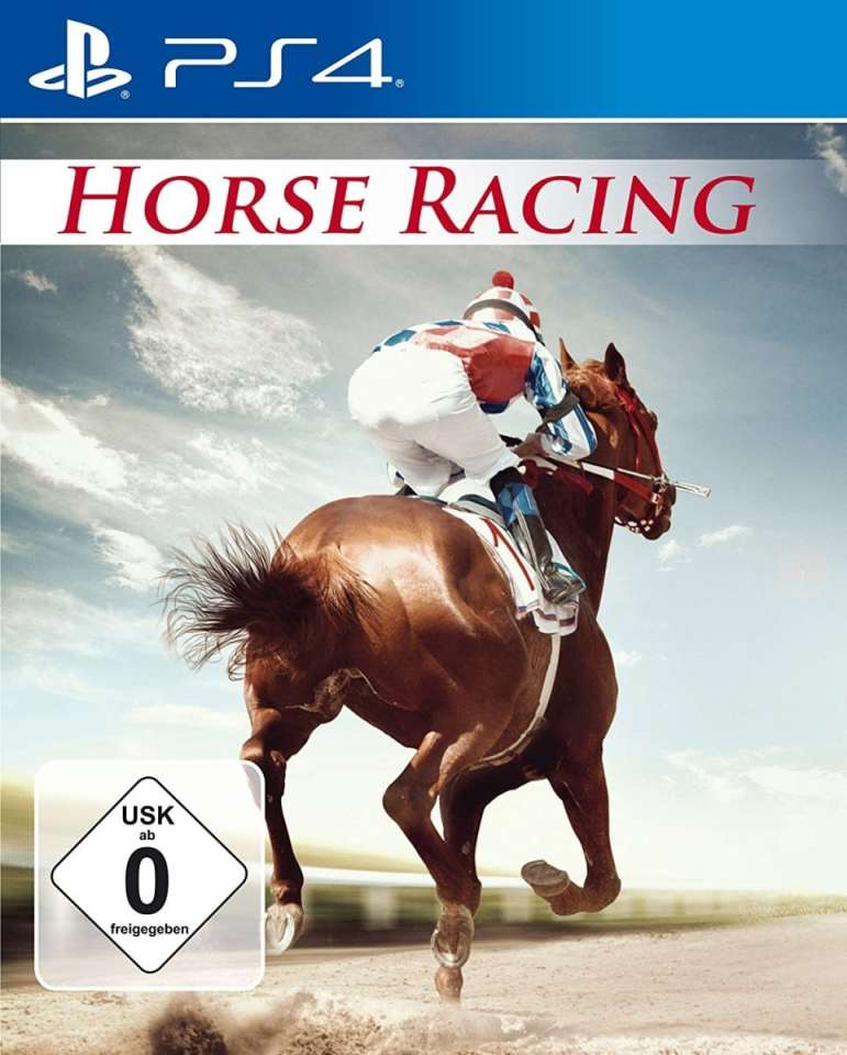 horse racing markt + technik ps4 cover