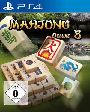 mahjong deluxe 3 markt & technik ps4 cover