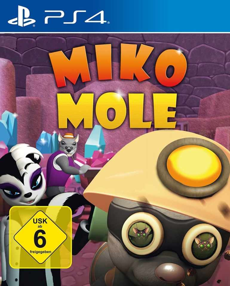 miko mole markt & technik ps4 cover