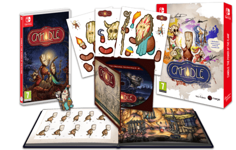 candle signature edition games limitedgamenews.com nintendo switch ps4 cover