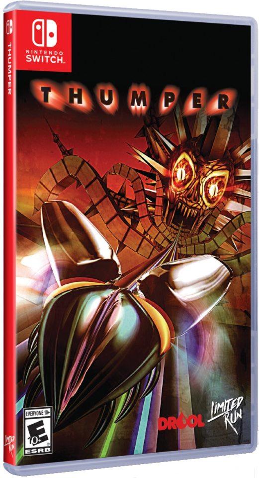 thumper drool limitedrungames.com limitedgamenews.com nintendo switch ps4 cover