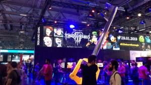 kongdom hearts 3 gamescom 2018 booth