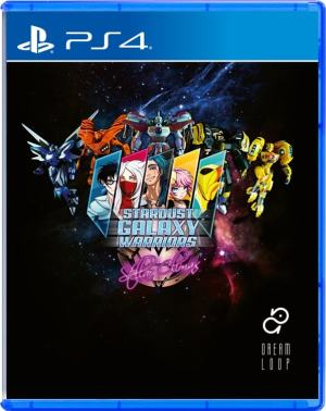 stardust galaxy warriors strictly limited games limitedgamenews.com ps4 cover variant a