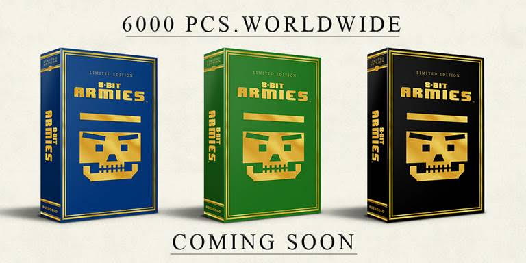 8-bit armies limited editions soedesco limitedgamenews.com announcement