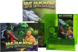 log jammers nintendo nes physical release limitedgamenews.com box art manual label
