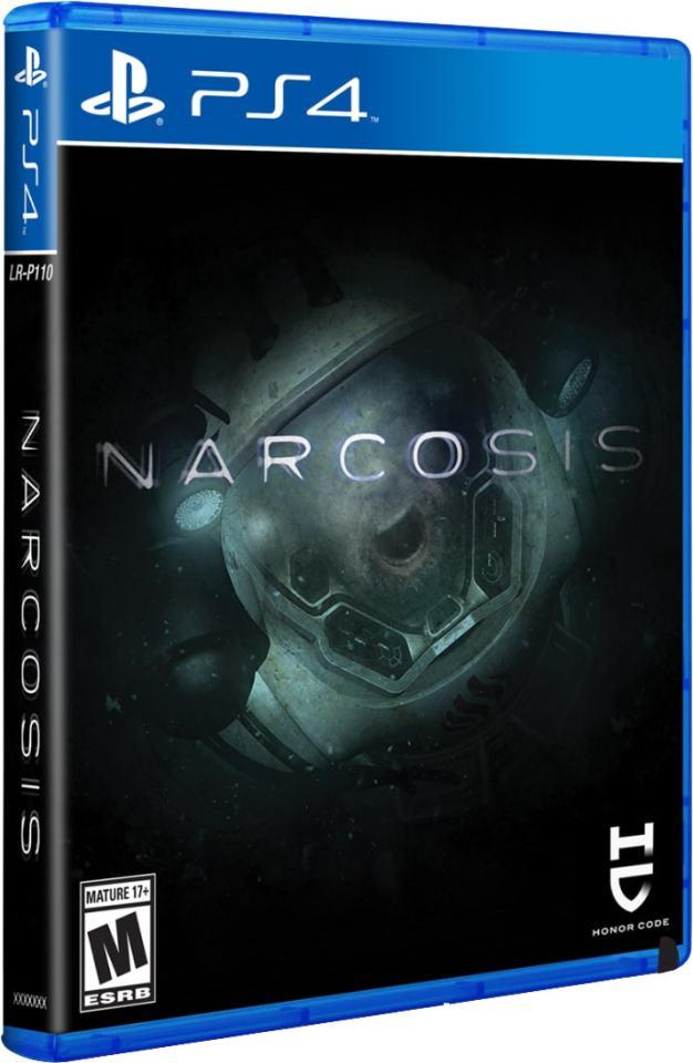 narcosis limitedrungames.com limitedgamenews.com ps4 cover
