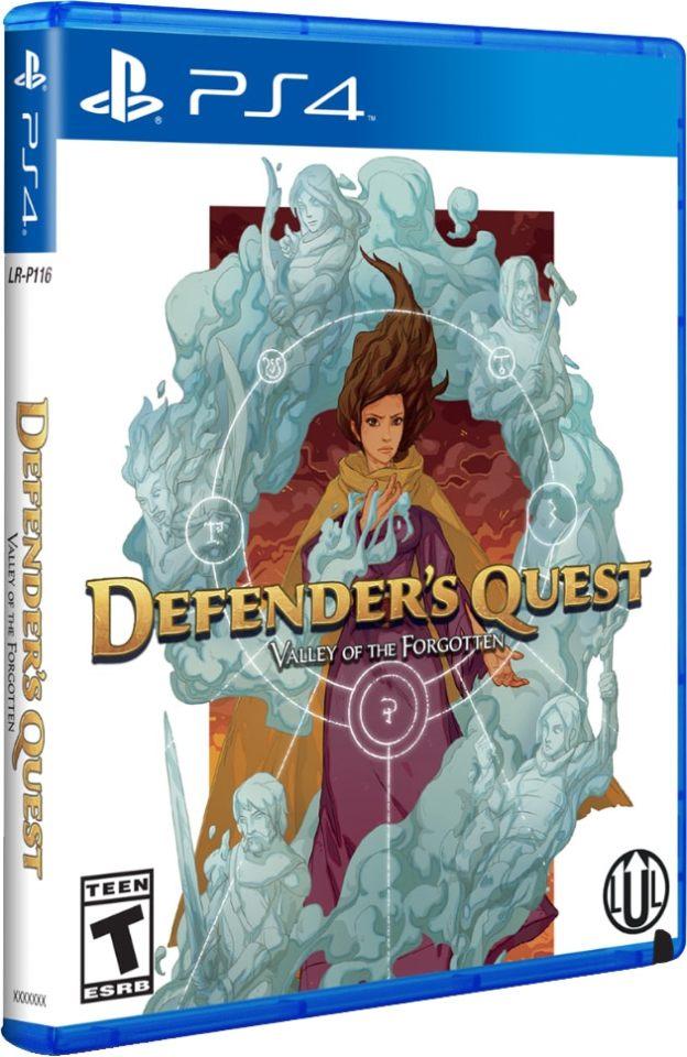defenders quest valley of the forgotten limitedrungames ps4 cover limitedgamenews.com