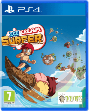 ice cream surfer limitedgamenews.com ps4 cover