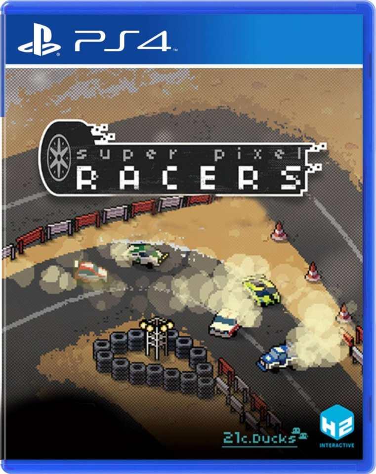 super pixel racers multi-language ps4 cover limitedgamenews.com