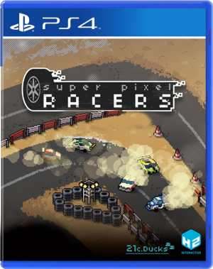 super pixel racers multi-language ps4 cover limitedgamenews.com