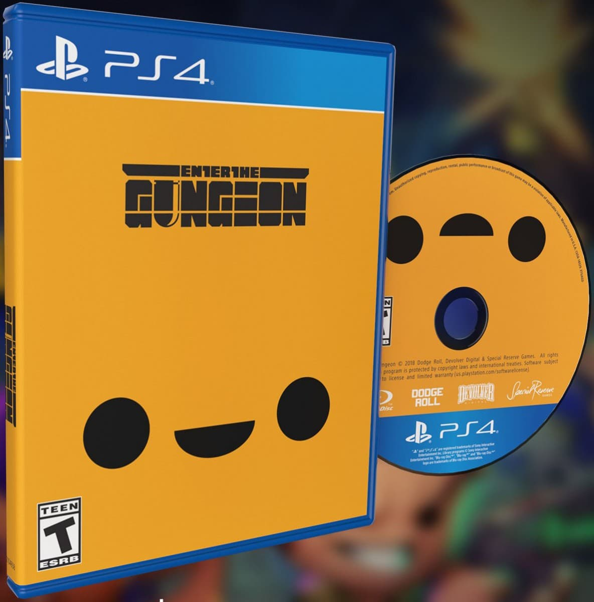 Enter the Gungeon for PlayStation 4 - Limited Game News