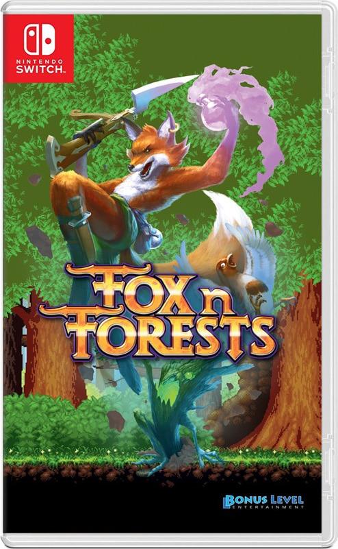 fox n forests nintendo switch cover limitedgamenews.com