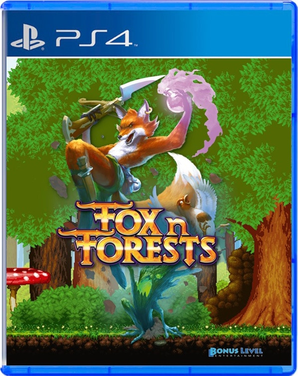 fox n forests ps4 cover limitedgamenews.com