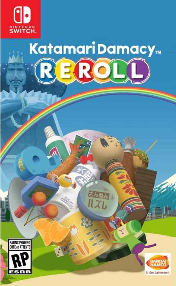katamari damacy reroll nintendo switch cover limitedgamenews.com