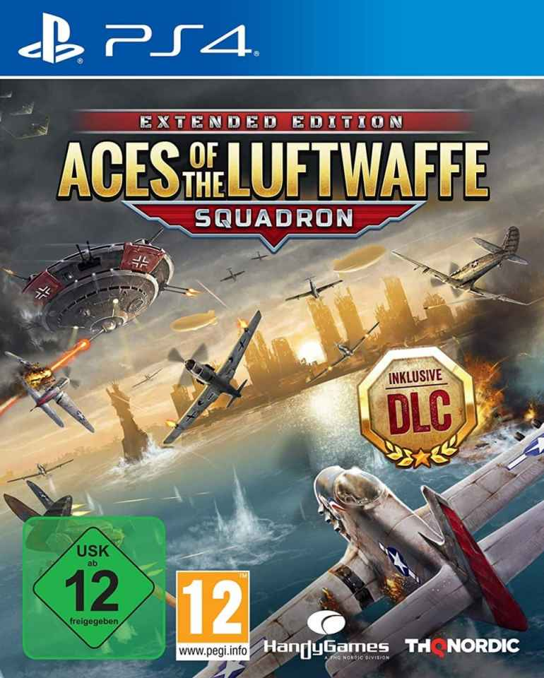 aces of the luftwaffe squadron extended edition ps4 cover limitedgamenews.com