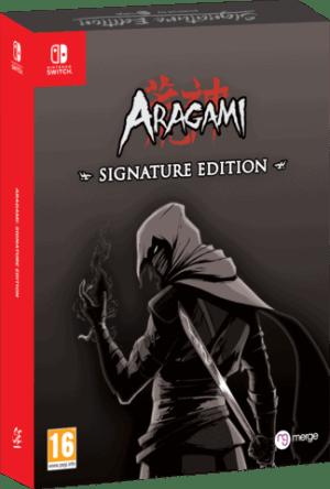 aragami signature edition nintendo switch cover limitedgamenews.com