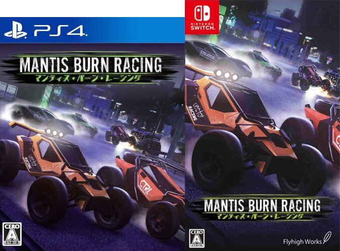 Mantis Burn Racing for Nintendo Switch & PS4 - Limited