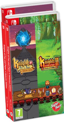 knights of pen and paper 1 2 superraregames nintendo switch cover limitedgamenews.com