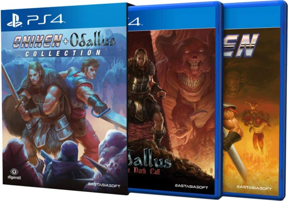 odallus the dark call oniken unstoppable edition collection sleeve eastasiasoft ps4 cover limitedgamenews.com
