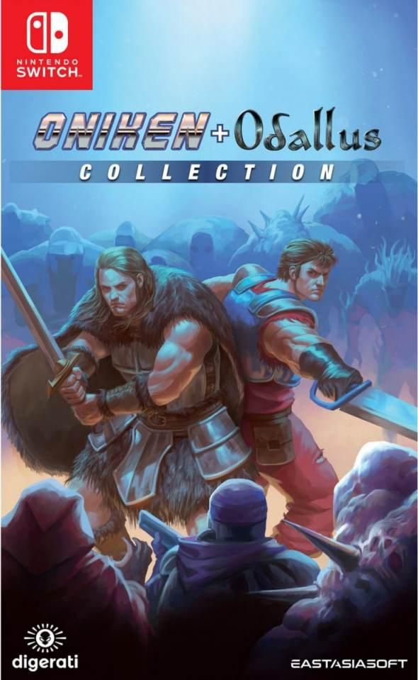 oniken odallus collection limited edition eastasiasoft nintendo switch cover limitedgamenews.com