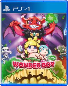 wonder boy returns strictly limited games ps4 cover limitedgamenews.com