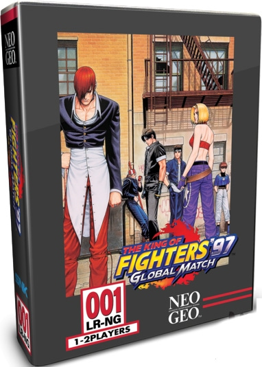 king of fighters 97 global match classic edition limited run games ps4 cover limitedgamenews.com