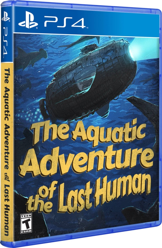 the aquatic adventure of the last human ps4 cover limitedgamenews