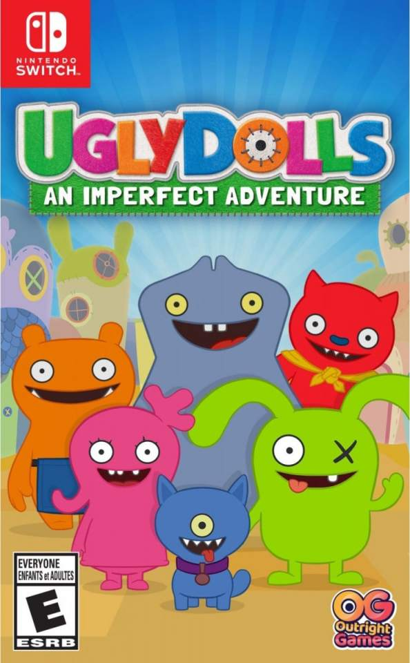 uglydolls an imperfect adventure nintendo switch cover limitedgamenews.com