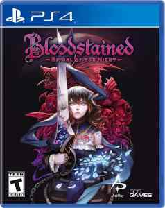 bloodstained ritual of the night ps4 cover limitedgamenews.com