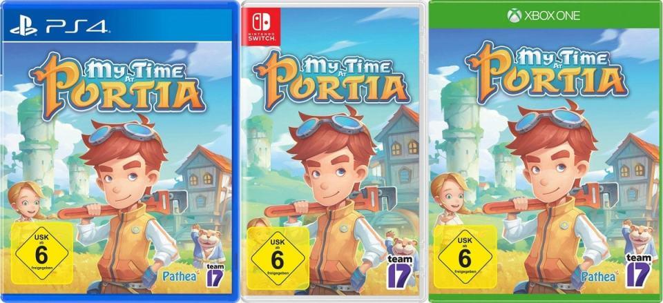my time at portia eu retail exclusive nintendo switch ps4 xbox one cover limitedgamenews.com