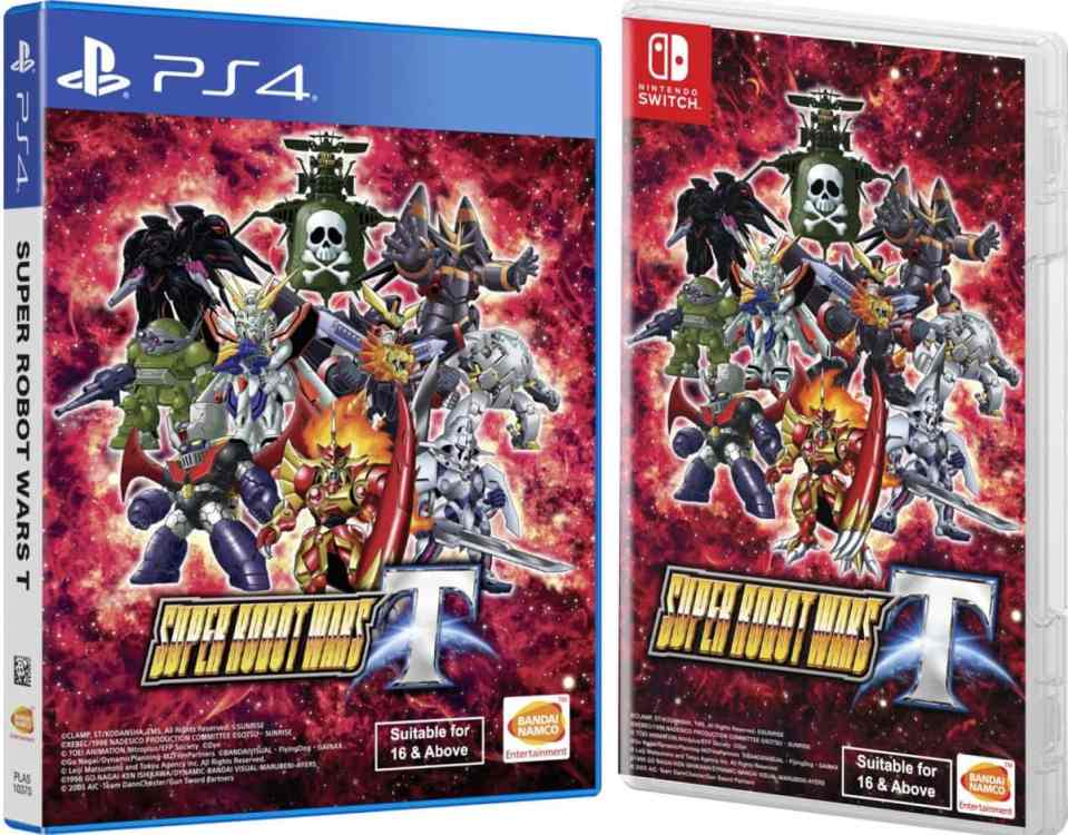 super robot wars t english nintendo switch ps4 cover limitedgamenews.com