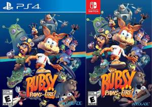 bubsy paws on fire retail nintendo switch ps4 limitedgamenews.com