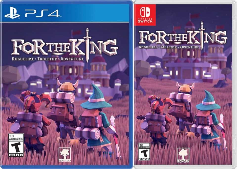 for the king retail ps4 nintendo switch cover limitedgamenews.com